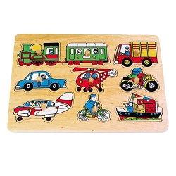 Legler 7086 Puzzle ad incastro «Traffico»