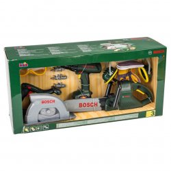BOSCH TOOL SET - CHAINSAW - DRILL - CIRCULAR PLAY...