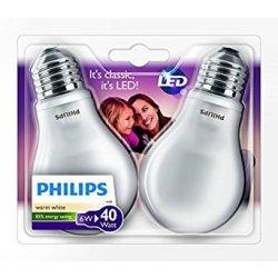 Philips, Lampadina LED, attacco E27, 2 pz., 6...