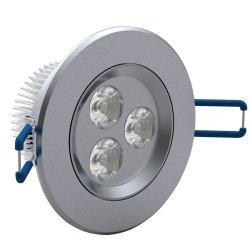 Set da 12 faretti LED da incasso 3W colore della...