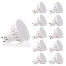 LOHAS Confezione da 10 Lampadine LED GU10 6Watt,...