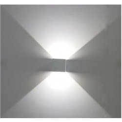 Lampada led da parete IP65 doppia luce fredda...