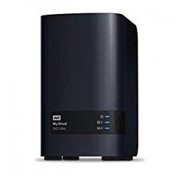 WD WDBVBZ0000NCH-EESN My Cloud EX2 Ultra Network...