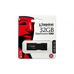 Kingston DT100G3/32GB DataTraveler 100 G3,...