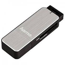 Hama Lettore USB 3.0, SD e Micro SD, UHS-1,...