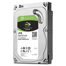 Seagate Desktop Barracuda 7200 4TB HDD 7200rpm...