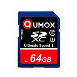 64GB QUMOX SD XC 64 GB SDXC Class 10 UHS-I Secure...