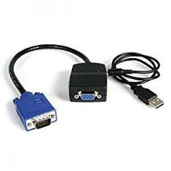 Startech.Com Sdoppiatore Video VGA a 2 Porte,...