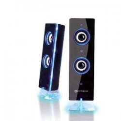 Keyteck SP-2805 Speakers USB 2.0 Effetto Luce Blu
