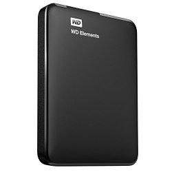 WD WDBUZG0010BBK-EESN Elements Hard Disk Esterno...