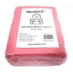 Muslinz - Quadrati di mussola per bambini, alta...