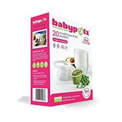 Babypotz - 20 contenitori 90ml in plastica...