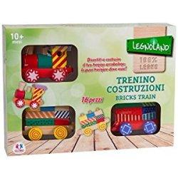 Legnoland 35693 - Trenino in Legno Arcobaleno...