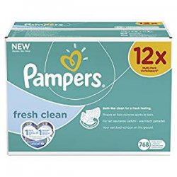 Pampers, Salviette umide Fresh Clean, confezione...