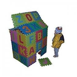 Tappeto Puzzle 36 Tessere (86 pezzi) in Gomma...
