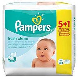 Pampers, Salviette umide per bebè Fresh,...