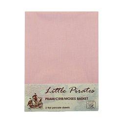 2 x per passeggino/lettino/culla, colore rosa,...
