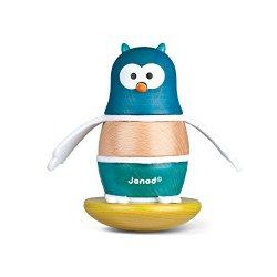 Janod - J08125 - Zigolos Owl Stacker And Rocker