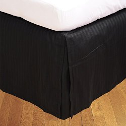 BudgetLinen Box a pieghe gonna letto ( Valance...