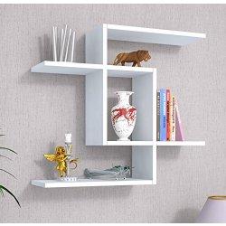 EVEN Mensola muro Bianco Mensola Parete Mensola Libreria