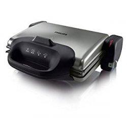 Philips HD4467/90 Health Grill-Bistecchiera-Toast...
