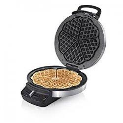 Princess 132393 Macchina Waffle in Acciaio Inox
