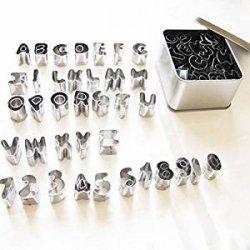 Set Da 37 Formine A Lettere Dellalfabeto E Numeri...