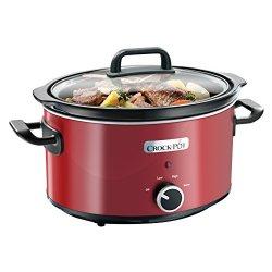 Crock-Pot - Slow Cooker, 3,5 L, Colore Rosso