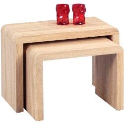 HomeTrends4You 511242 Set di 2 tavolini a...