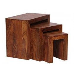 Wohnling WL1.205 Sheesham Tavolino da salotto in...