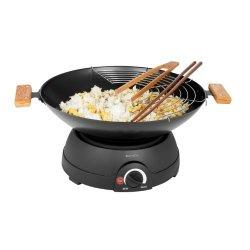 Domoclip DOM194 - Set wok e fonduta, elettrico