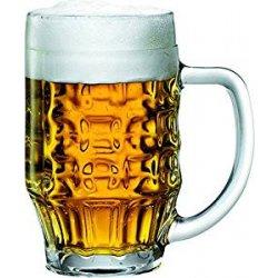 Fischer - 6 boccali da birra Malles in vetro da...