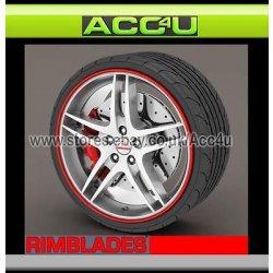 Rimblades ROSSO Auto 4x4 Cerchio In Lega Del...