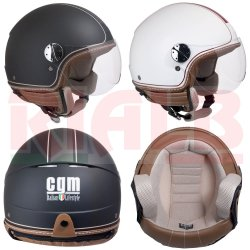 Casco Demi-Jet Open Face CGM 109V SANTA MONICA...