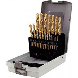 KS Tools 330.4620 Serie di Punte Elicoidali HSS...