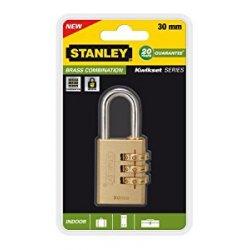 Stanley 81131371401 Lucchetto in Ottone con...