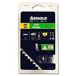 Arnold 1191-X1-0004 - Catena per motosega amatoriale, passo 3/8', 1,3 mm, 45 maglie, per spranga da 30 cm