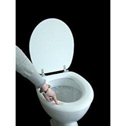 ADOB Polsi, Sedile copri-WC morbido, con cerniere...