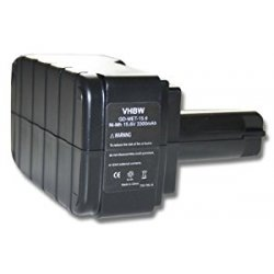 Batteria vhbw per Metabo BS 15.6 plus, BST 15.6,...