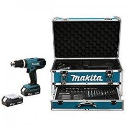 Makita HP457DWEX4 LI Percussion Trapano a...