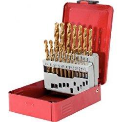 KS Tools 330.4610 Serie di Punte Elicoidali HSS...