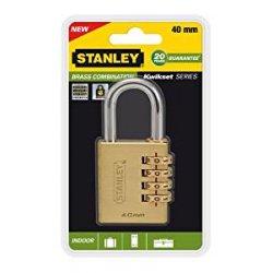 Stanley 81133371401 Lucchetto in Ottone con...