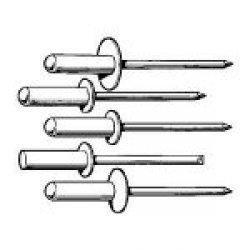 Ironside 141037 - Rivetti ciechi 4,8/12 70 pezzi