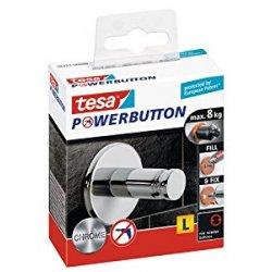 Tesa 59322-00000-00 Powerbutton Gancio Adesivo...