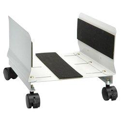 SECOMP - Porta tower PC mobile, su rotelle