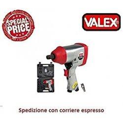 "I prezzi più bassi per AVVITATORE PNEUMATICO-1/2""+VALIGETTA 1550132 Valex"