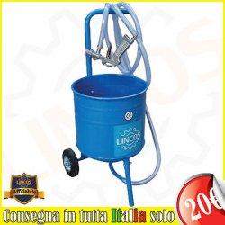 Lincos - Sabbiatrice professionale 50 litri...