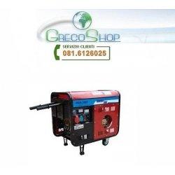 Generatore di corrente diesel 5000W - 220/380V...