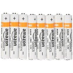 AmazonBasics - Pile alcaline AAAA, confezione da 8