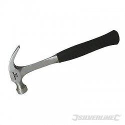 Martello da carpentiere in acciaio manico...